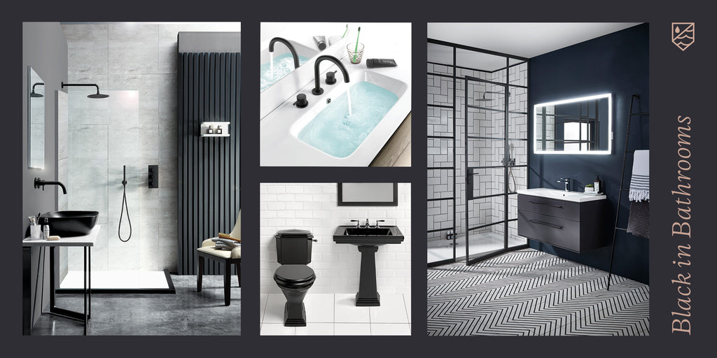 2020 Bathroom Trends - Black in Bathrooms