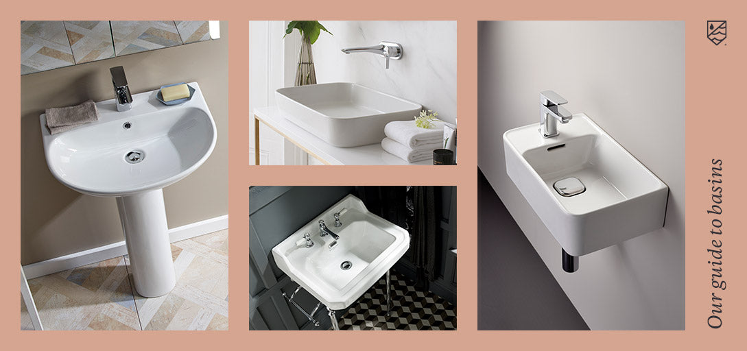 Product Guides - What Type Of Bathroom Basin Do You Need?