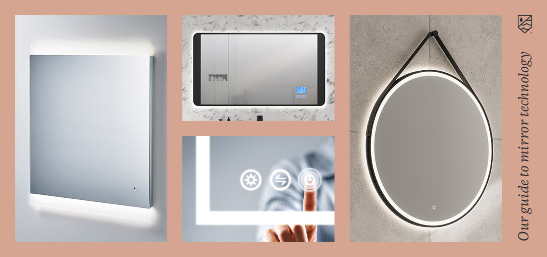 Product Guides - What Are The Types Of Bathroom Mirror Technology?