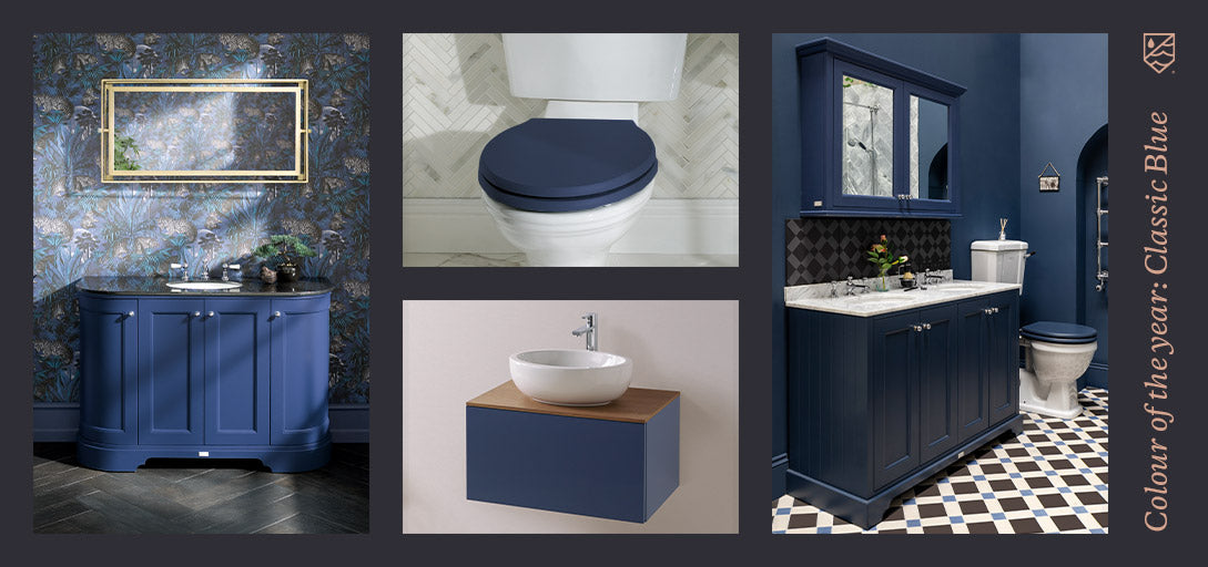 Bathroom Trends - Colour Of The Year: Classic Blue
