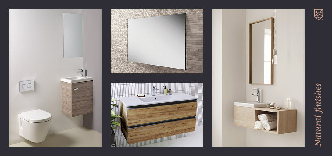Bathroom Trends - Natural Finishes