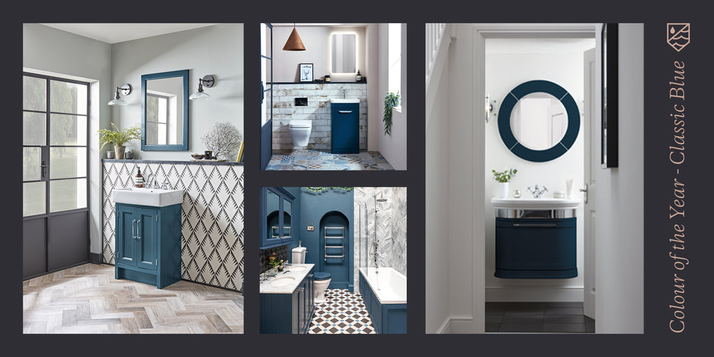 Top Bathroom Trends of 2020 - Colour of the Year: Classic Blue