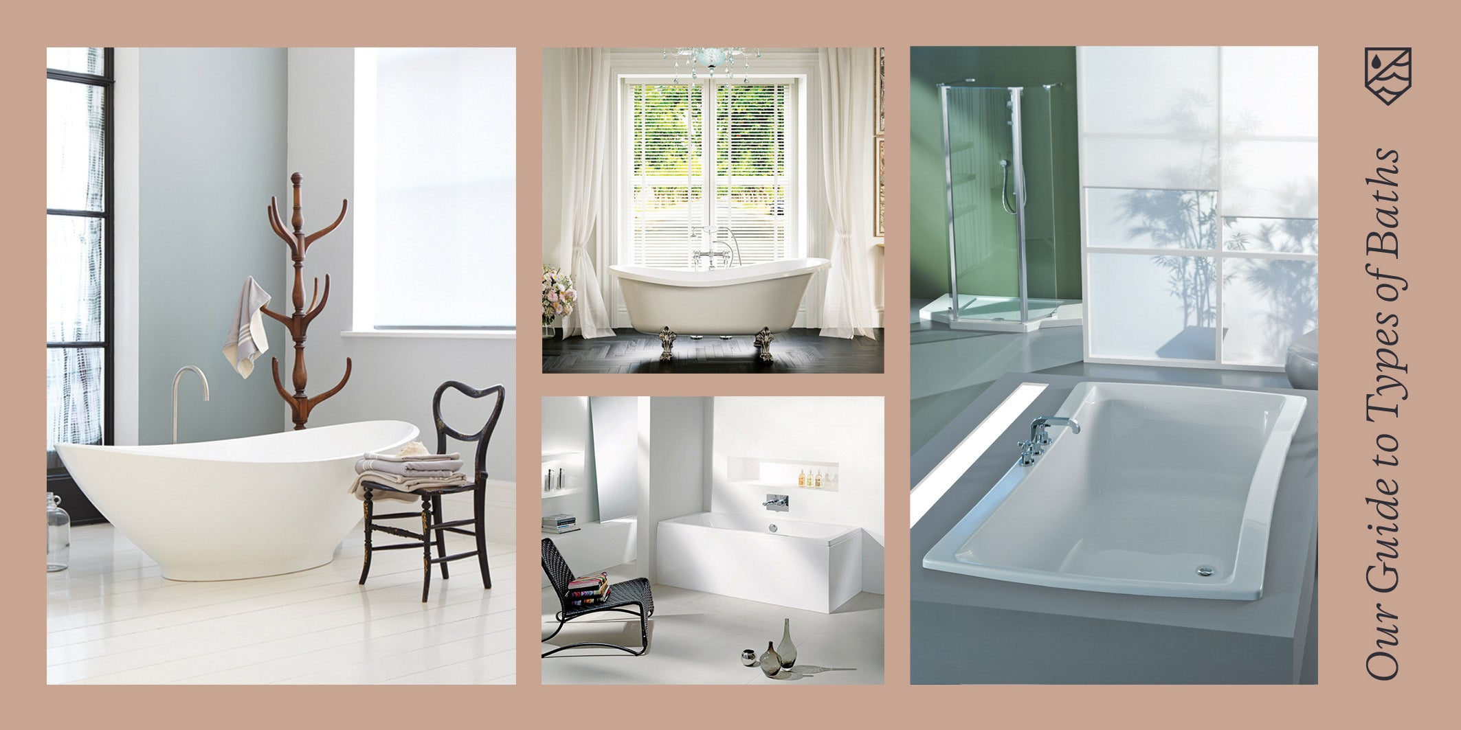 Our Guide to Types of Baths