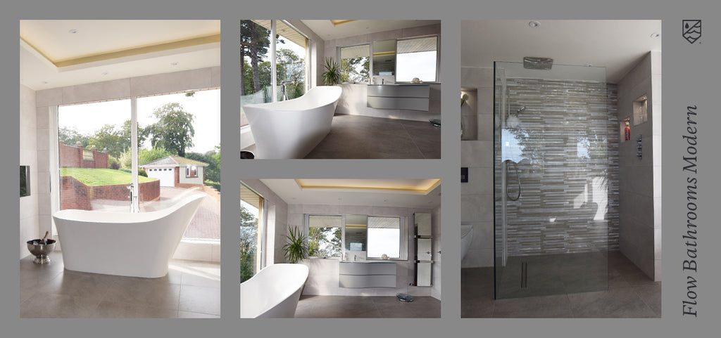 Flow Bathrooms and Kitchens Modern Bathrooms