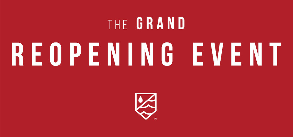 The Grand Re-Opening Event
