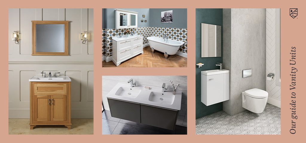 Our Guide to Types of Vanity Units