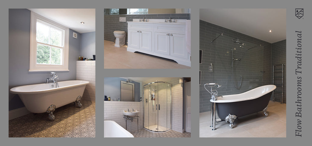 Flow Bathrooms and Kitchen Traditional Bathroom Case Study