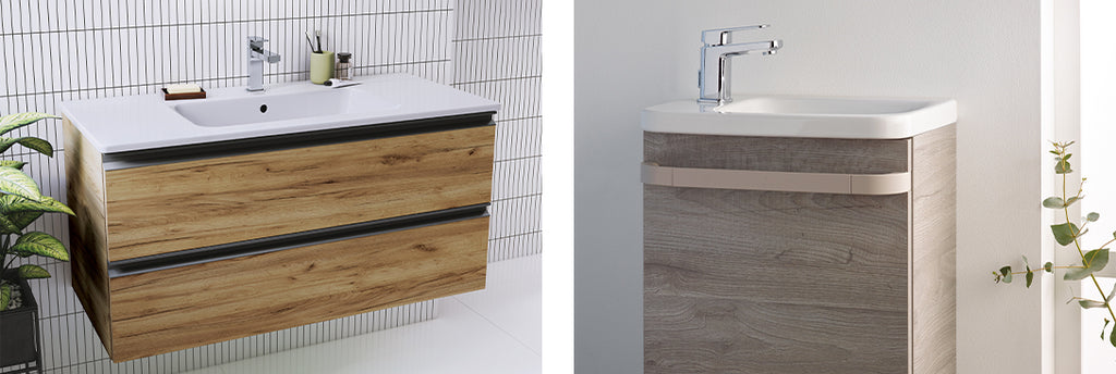 Natural Finishes Clean & Contemporary Bathroom