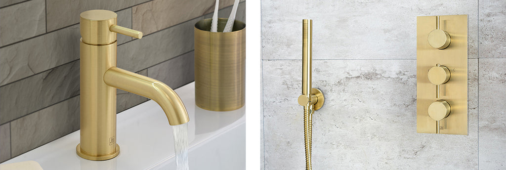Luxury Metals Brushed Brass