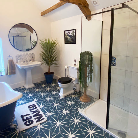 Traditional Cottage Farmhouse Modern Shower