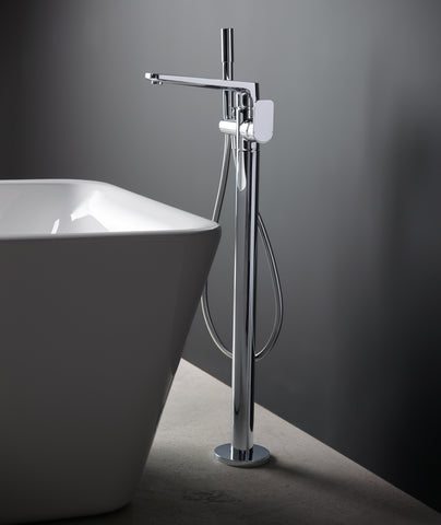 Sottini Turano Floor Mounted Bath Shower Mixer tap