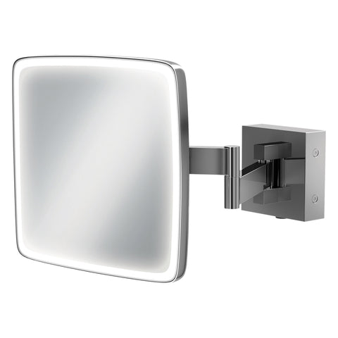HiB Eclipse Square Magnifying Mirror 18 x 18cm