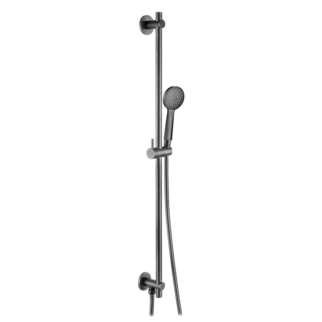 JTP VOS Slide Rail Kit With Round Shower Handset & Hose -
