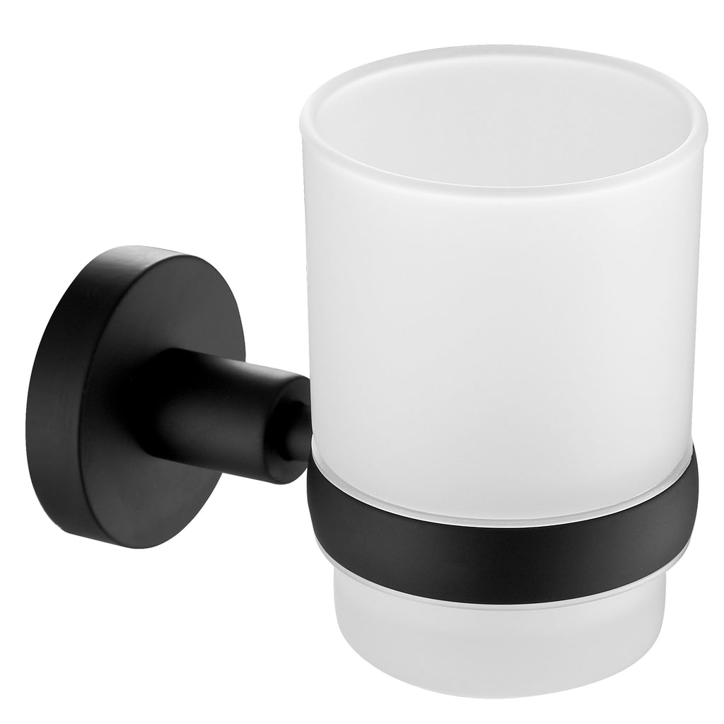 JTP Vos Glass Tumbler & Holder -
