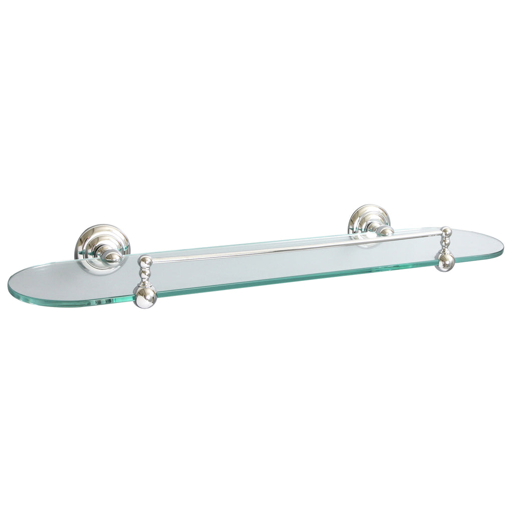 Miller Richmond Clear Glass Shelf -