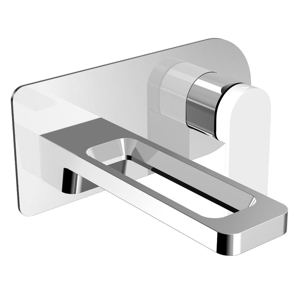 JTP AXEL Single Lever Wall Mounted Basin Mixer Tap -