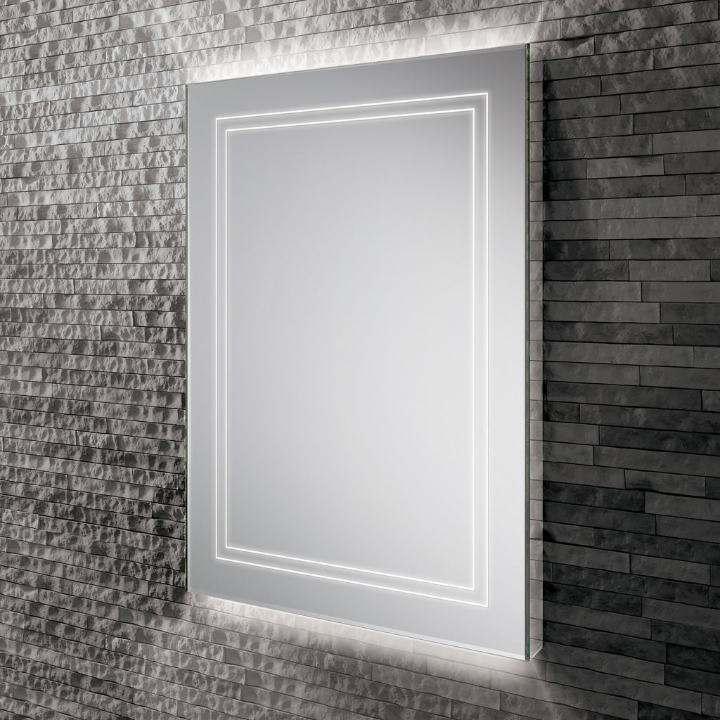HiB Outline 50 LED Ambient Mirror 70 x 50cm -