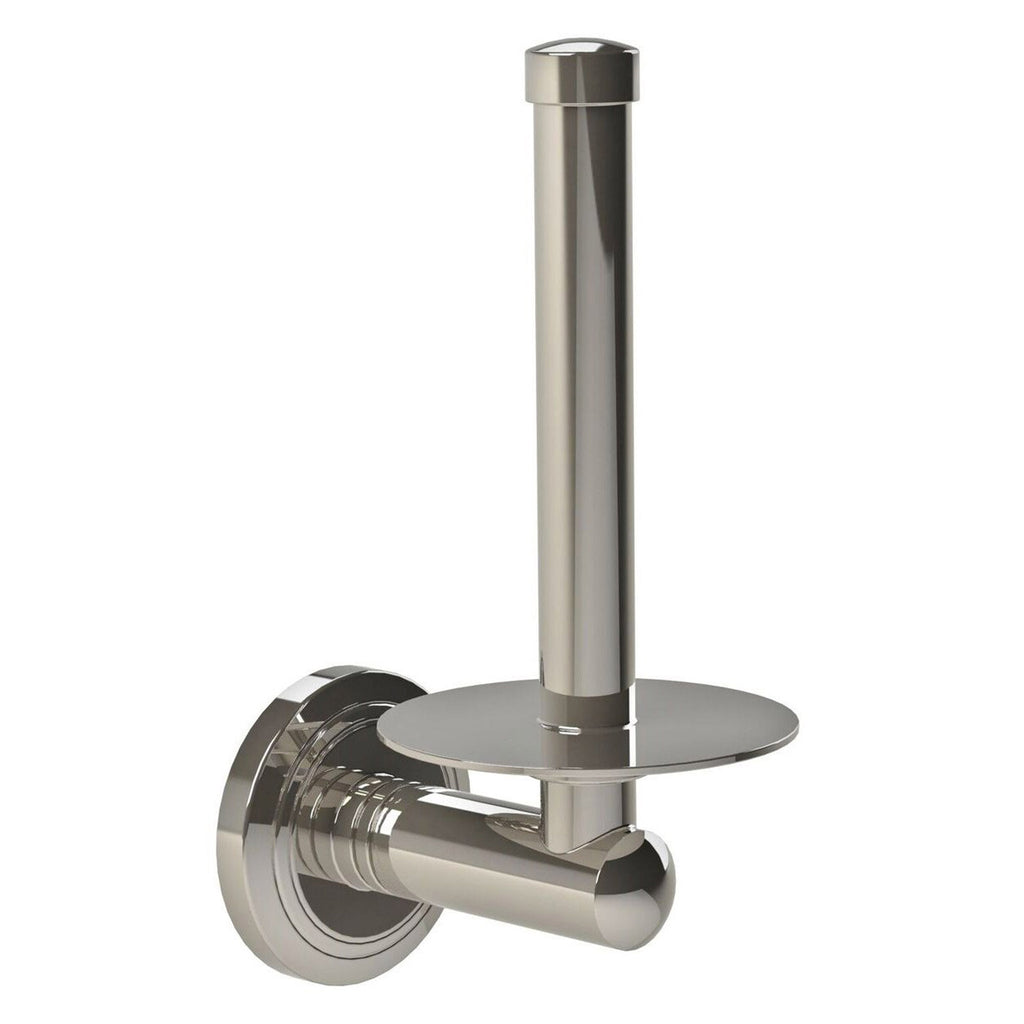Miller Oslo Polished Nickel Spare Toilet Roll Holder -