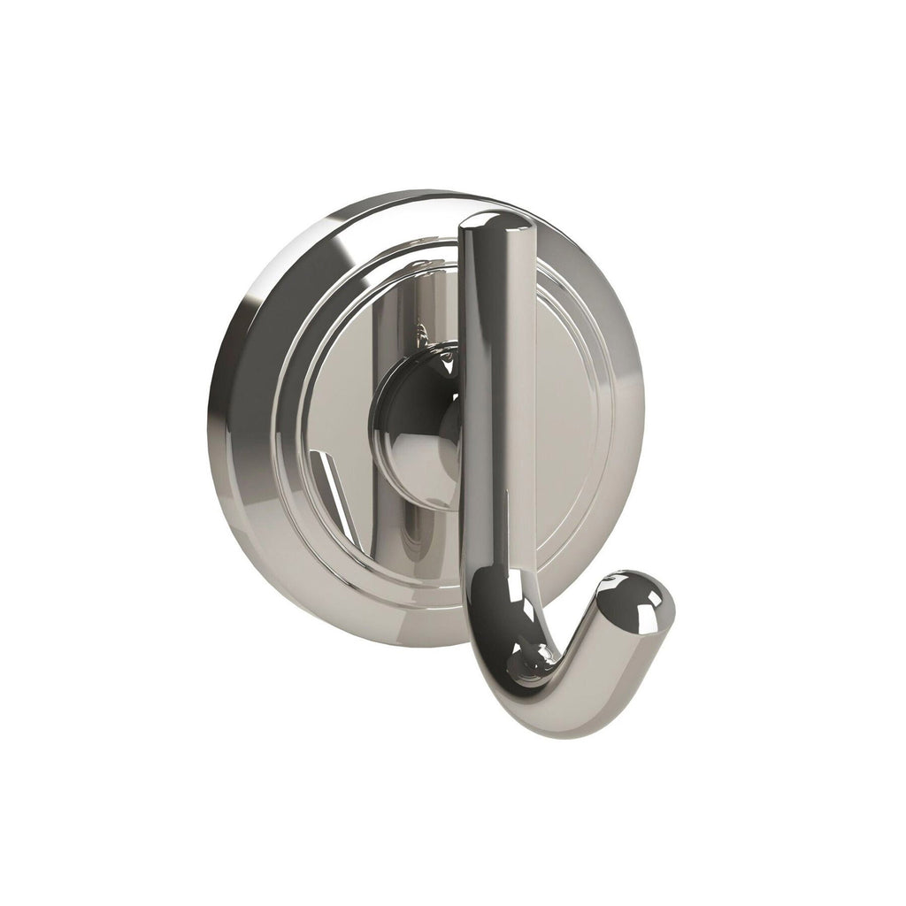 Miller Oslo Polished Nickel Single Robe Hook -