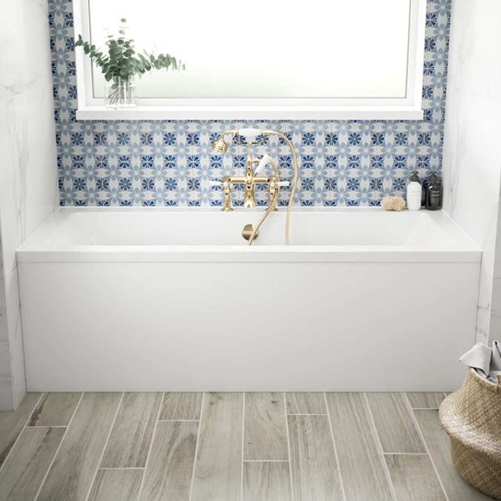BC Designs SolidBlue Durham DE Double Ended Bath -