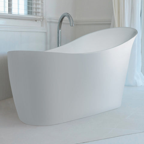 BC Designs Slipp Slipper Double Ended Bath 1590 x 675mm