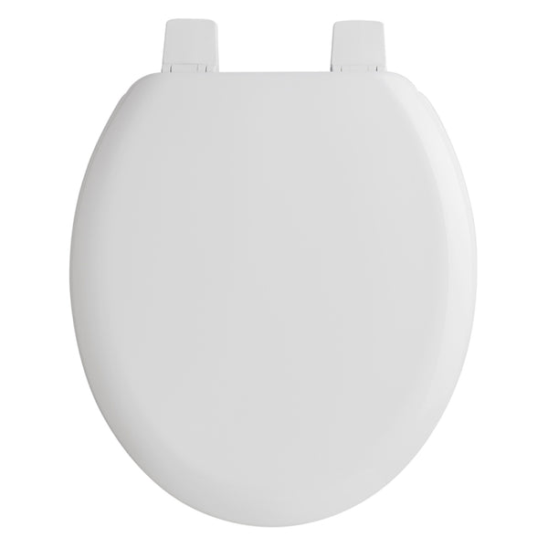 Fine Bayswater White Wooden Toilet Seat Plastic Hinges Camellatalisay Diy Chair Ideas Camellatalisaycom