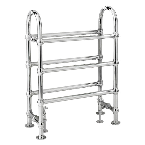 Bayswater Benjamin Heated Towel Rail 780 x 685mm - Chrome
