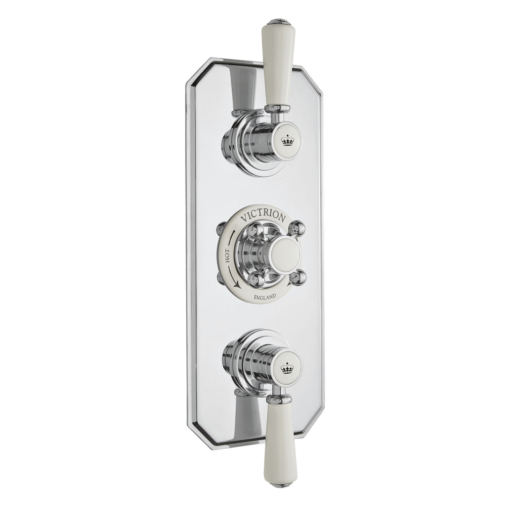 BC Designs Victrion Triple 2 Way Concealed Shower Valve -