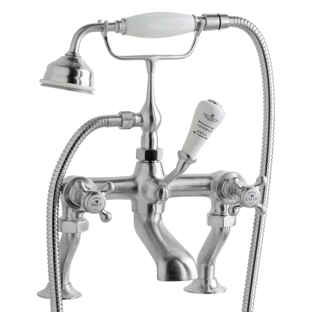 BC Designs Victrion Crosshead Bath Shower Mixer Tap -