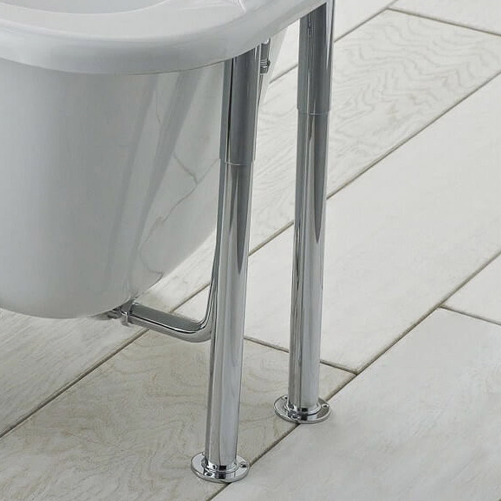 BC Designs Victrion Bath Legs With Adjustable Shrouds -