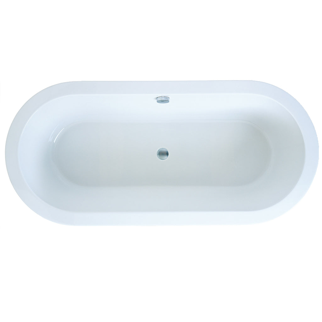 Adamsez Eclipse AdVance Freestanding Bath 1740 x 800mm -