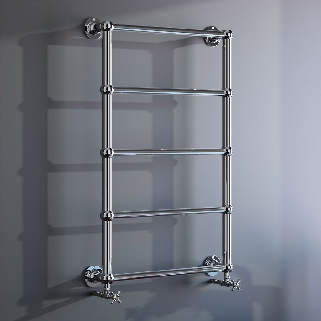 Radox Edwardian Wall Mounted Heated Towel Rail -