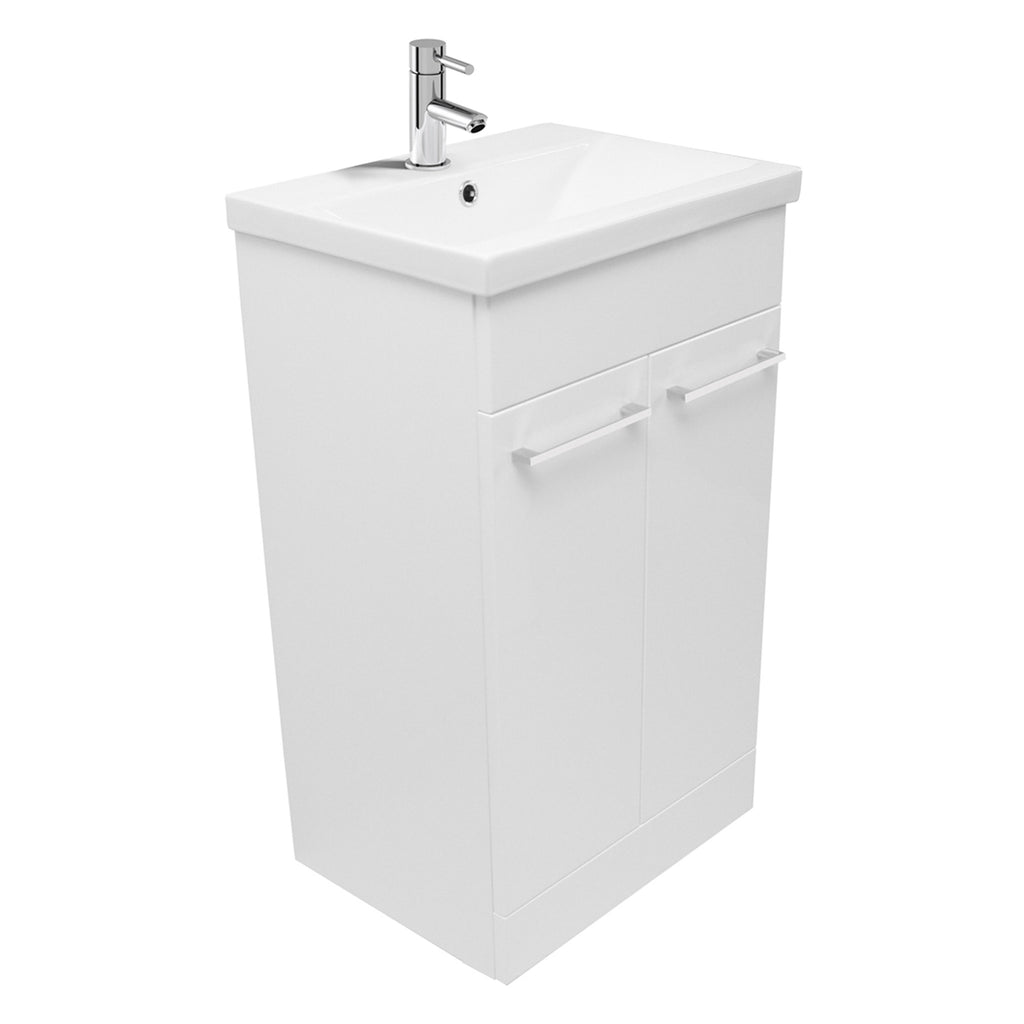 Unity Pace 500 Floor Mounted Vanity Unit & Basin -