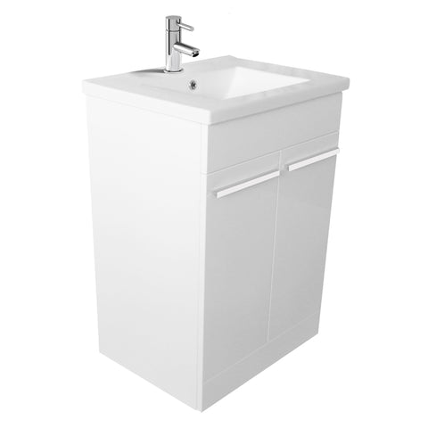 Unity Pace 600 Floor Mounted Vanity Unit & Basin