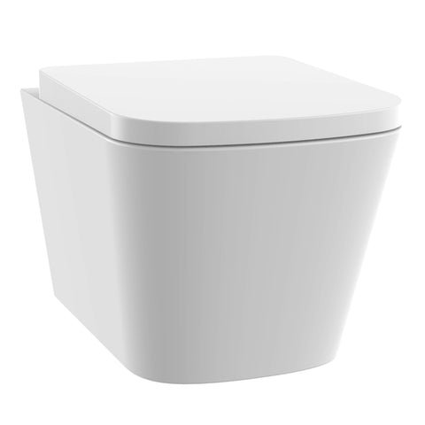 Unity Jive Rimless Wall Hung Toilet & Soft Close Seat