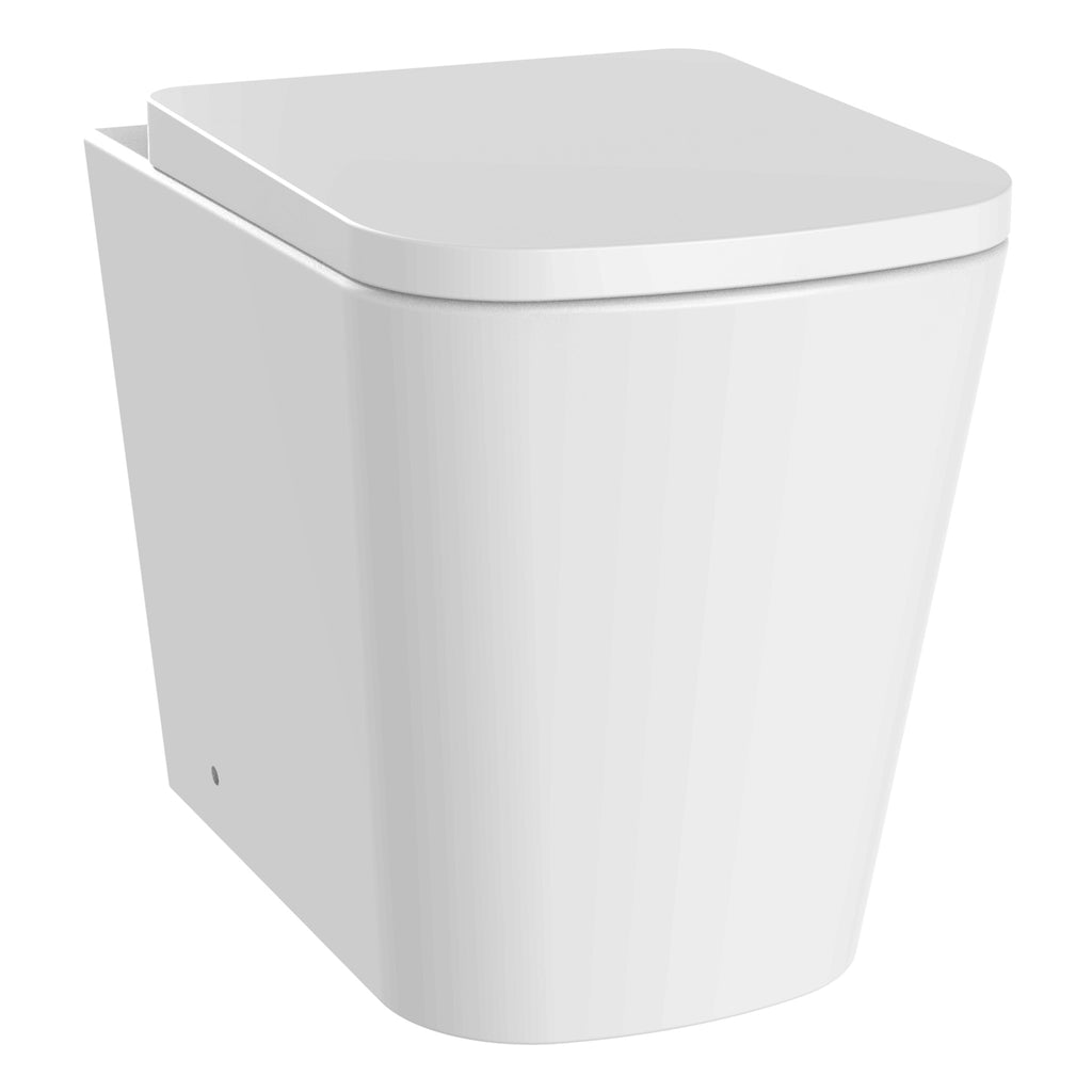 Unity Jive Rimless Back To Wall Toilet & Soft Close Seat -