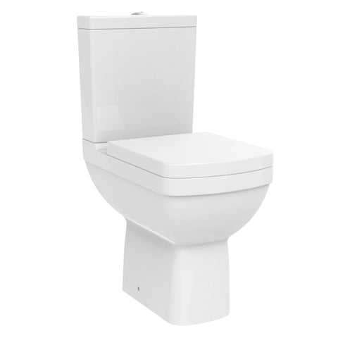Unity Marquee Comfort Close Coupled Toilet & Soft Close Seat