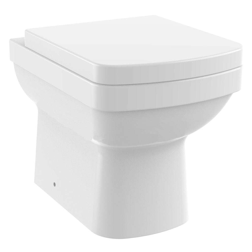 Unity Marquee Back To Wall Toilet & Soft Close Seat -