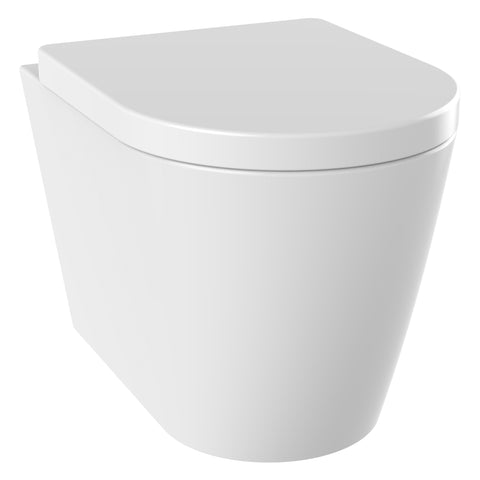 Unity Zone Rimless Wall Hung Toilet & Soft Close Seat