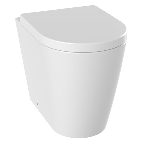 Unity Zone Rimless Back To Wall Toilet & Soft Close Seat