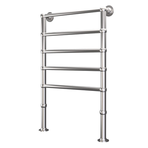 Radox Edwardian Floor Mounted Heated Towel Rail