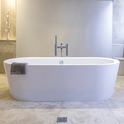 BC Designs Plazia Double Ended Bath 1780 x 800mm