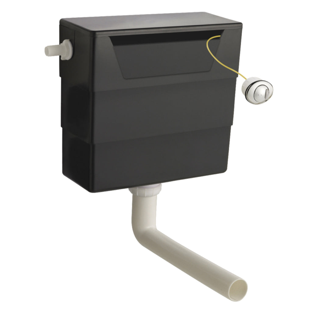 Bayswater Concealed Cistern & Push Button Dual Flush -