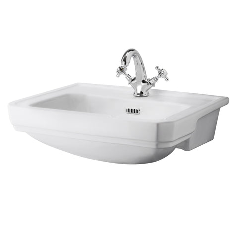 Bayswater Fitzroy 560mm Semi-Recessed Basin