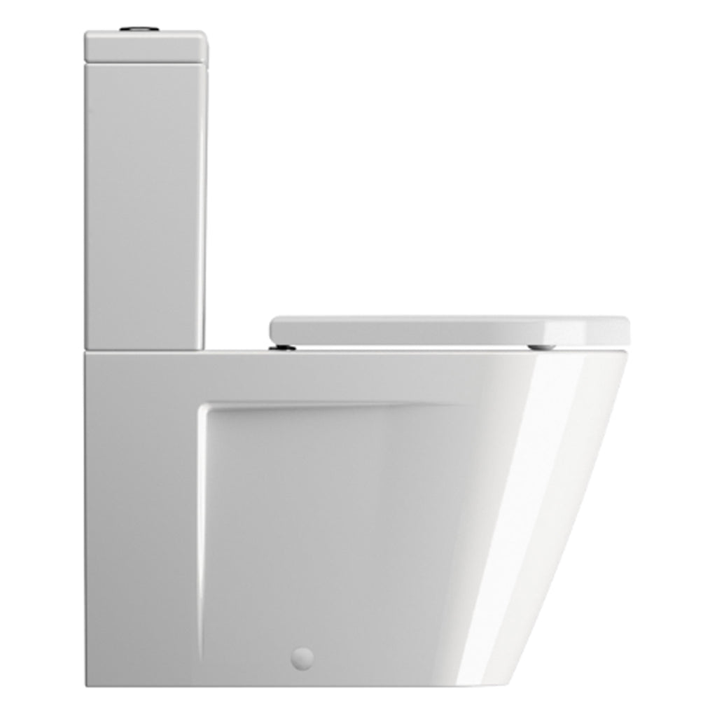 GSI Norm 68 Close Coupled WC Pan & Cistern With Lid 680 x 360mm -