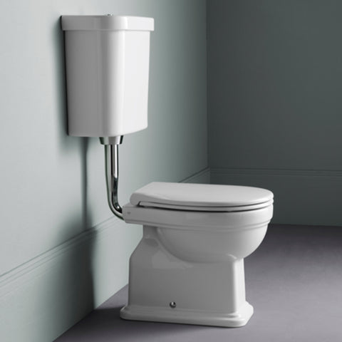 Shown With White Toilet Seat