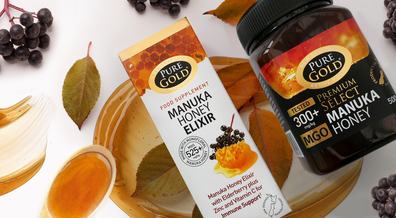Pure Gold Manuka Honey