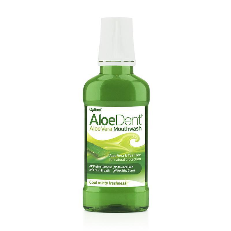 AloeDent® Mouthwash Fluoride Free 250ml - Optima Health & Nutrition