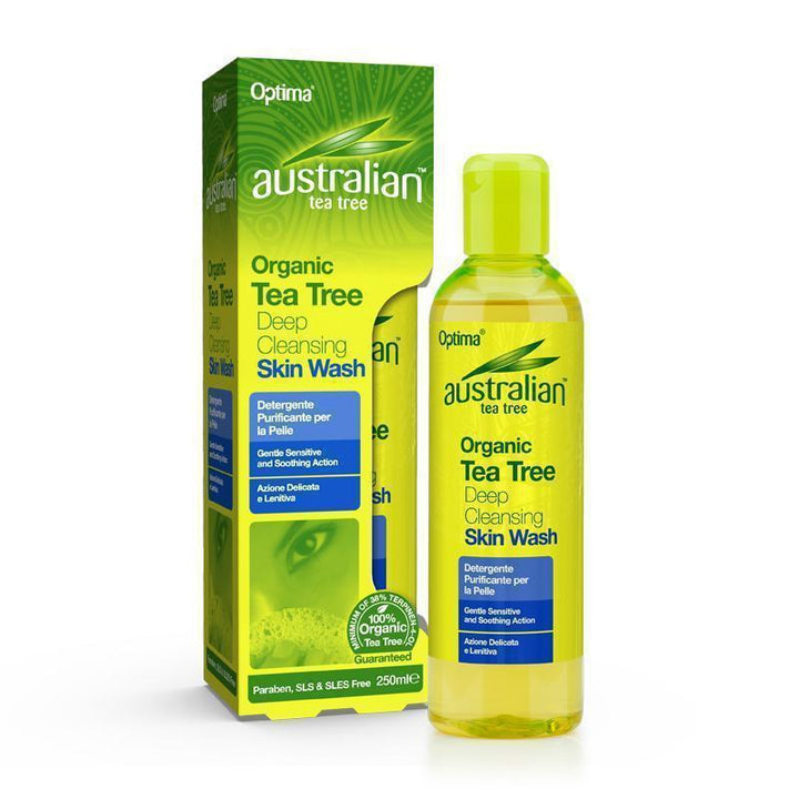 Deep Cleansing Skin Wash 250ml - Optima Health & Nutrition