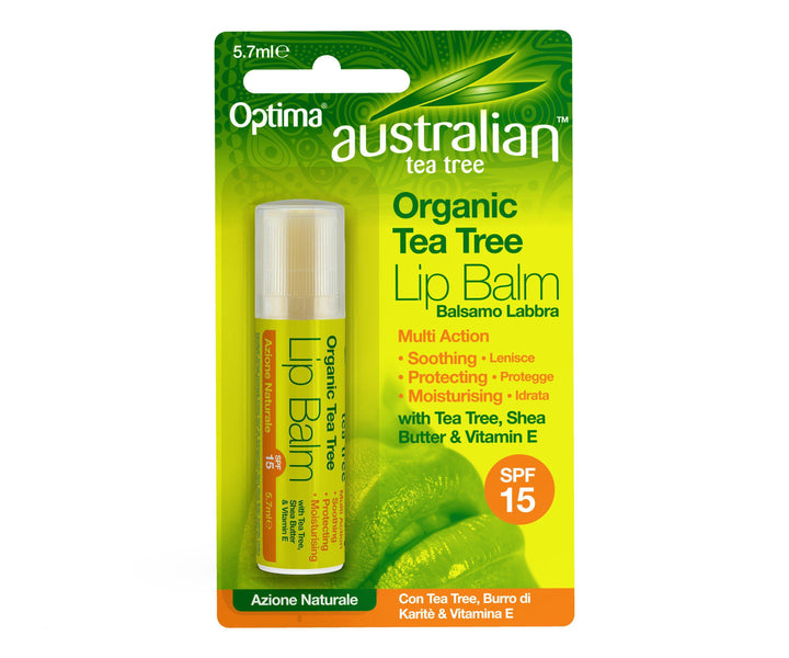 Tea Tree Lip Balm 5.7ml - Optima Health & Nutrition